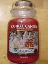 Yankee Candle Christmas Magic 22 oz One Wick NEW 2017 Christmas Holiday European