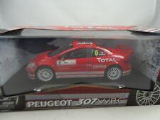 1 18 Maisto #38693 Peugeot 307 WRC #5 Red Rare $