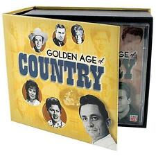 THE GOLDEN AGE OF COUNTRY Time-Life CD Box Set, SEALED 10 Discs, NOS MINT