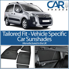 Citroen Berlingo 5dr 08-15 UV CAR SHADES WINDOW SUN BLINDS PRIVACY GLASS TINT