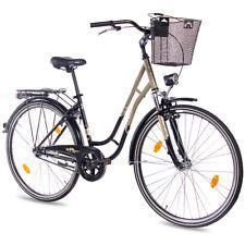 "28"" Zoll Cityrad Damenrad Fahrrad KCP TOURY 1G Rücktritt nach StVZO schwarz oliv"