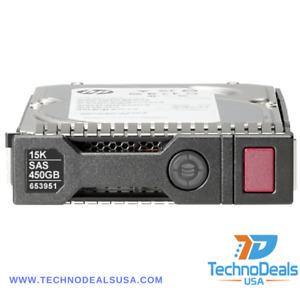 HP 450GB Plug-In Module 15000RPM 652615-B21 653951-001 HDD