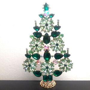 -20% - Unique rhinestones - standing Czech Christmas Tree