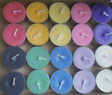 Coloured Tea Light Candles Meditation, Spells, Gifts