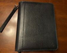 Franklin Covey Black Usa Genuine Leather 7 Ring Organizer 1025x 775 Amp Paper