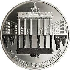Silbermünze - Silbermedaille * 75 Jahre Kriegsende seit 1945 * NEU *