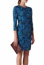 Whistles Parker Print Silk Bodycon Dress (John Lewis Exclusive), Size 6, BNWT