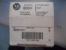 ALLEN BRADLEY 800H-M11 SER A PILOT LIGHT  ACCESSORY