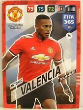 Panini Adrenalyn XL FIFA 365 2018 - #074 Antonio Valencia - Manchester United FC