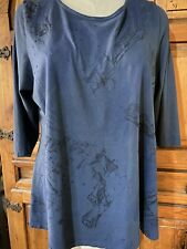 Blue Fish Clothing Cafe Top, Size 1, Lagenlook, Organic Cotton, Layering Shirt