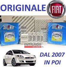 KIT TAGLIANDO + OLIO SELENIA GAS + CANDELE FIAT BRAVO II 1.4 GPL GAS 66 KW 90 CV