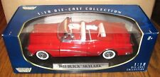 1953 Buick Skylark Convertible Collector Car 1:18 RED Motormax Toy Die Cast