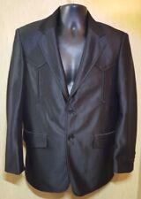 Maximos Mexico Mens XS / Boys 14 Black Western Formal Jacket Blazer Wedding