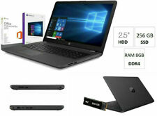 "Notebook Hp 255 G7 15.6"" AMD A4-9125,Ram 8Gb,Ssd M.2 256Gb,Windows 10PRO+office"