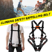 Professional Rescue Safety Belt Rock Climbing Fall Protection Full Body Harness