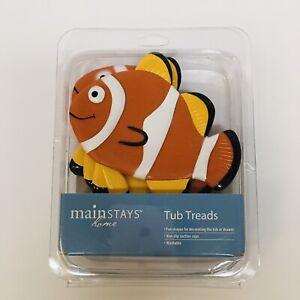 AquaTouch 5 Pack Tub Non Slip Safety Treads, Clown Fish  BRAND NEW