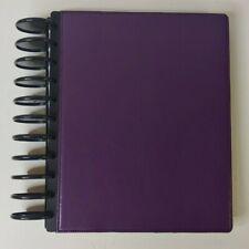 New Listingpurple Tul Disc Bound 9 12 X 11 12 Plannerjournalbujo Book 2 18 Discs