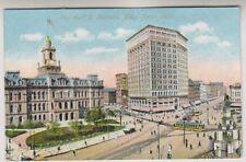 USA postcard - City Hall & Majestic Building, Detroit, Mich