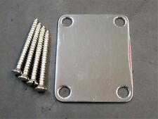 Electric Guitar Neck Plate Neck Plate Fix Tele Telecaster Guitar Neck Joint O0U6