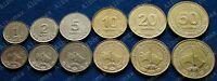 ✔ Turkmenistan 1, 2, 5, 10, 20, 50 tenge 2009 UNC Set 6 pcs KM# 95 - 100