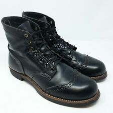 Red Wing 8126 Brogue Iron Ranger 'Black Chaparral' (EU 41,5 UK 7,5 US 8,5 D)