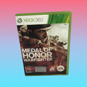 MEDAL OF HONOR WARFIGHTER XBOX 360 Complete PAL Game Very Good Condition