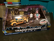 TRANSFORMERS Prime COMIC CON 2011 Bumblebee ARCEE First Edition NEW YORK CITY