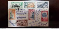 O) 1955 BARBADOS, QUEEN ELIZABETH II, KING GEORGE - DOVER FORT - HARBOR POLICE-P
