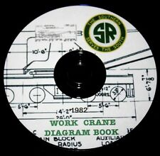 Southern Railroad Work Crane Diagrams PDF Pages DVD