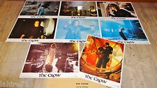THE CROW brandon lee ! jeu 8 photos cinema lobby cards fantastique