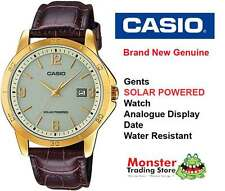 AUSTRALIAN SELLER CASIO MTP-VS02GL-9AD SOLAR POWERED WITH DATE 12 MONTH WARRANTY