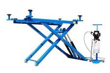 New Titan 6,000 lbs. Mid-Rise Scissor Lift with Free Adapters 110V