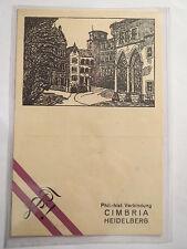 Heidelberg - Phil.-hist. Verbindung Cimbria / Studentika