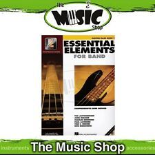 New Essential Elements for Band: Electric Bass Guitar Book 1 - Band Method