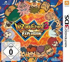 Inazuma Eleven 3: explosión (Nintendo 3ds DS juego keep case alemán nuevo + embalaje original