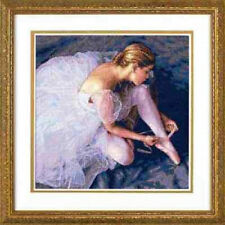 Counted Cross Stitch Kit BALLERINA BEAUTY Dimensions Gold Collection