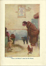 The Ugly Duckling  6 x 8 1/2 print (Color) Old Woman What is the Problem