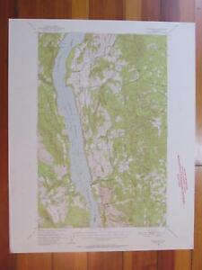 Inchelium Washington 1952 Original Vintage USGS Topo Map