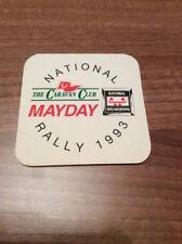 Rare & Collectable Caravan Club National Rally 1993 Souvenir Beer Mat Coaster