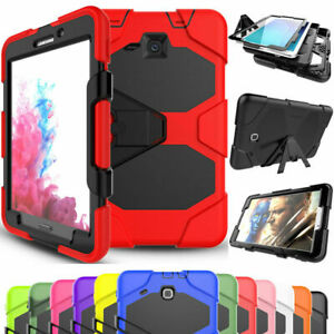 """For Samsung Galaxy Tab A 8"""" SM-T350 T355 Shockproof Tablet Kickstand Armor Case"""