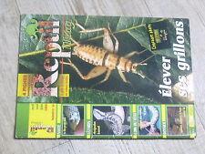 $$ Revue Reptil mag N°16 grillons  bio-protection  Physignathus lesueurii  coeur
