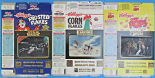 CEREAL BOX LOT of 3 '96 vtg Star Wars CANADIAN LENTICULAR CARDS X-Wing AT-AT