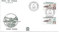 TAAF - ENVELOPPE 1er JOUR -   N° 97 et 98 - CANARD d'EATON