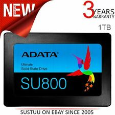 "ADATA Ultimate SU800 1TB 2.5"" 3D NAND Solid State Drive Internal SSD Black"