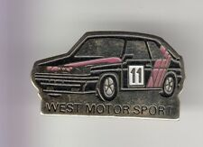 RARE PINS PIN'S .. AUTO CAR RALLYE TEAM PEUGEOT WEST MOTOR SPORT ~C9