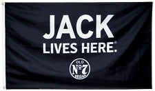 Jack Lives Here ennessee Whiskey Daniels Old No. 7 Brand 3X5FT flag US Shipper