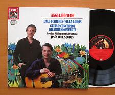 EL 27 0288 1 Angel Romero Schifrin Villa-Lobos Guitar Concertos NEAR MINT Vinyl