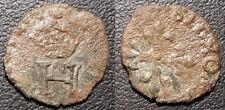 Henri III - liard à l'H couronné - Dy#1145