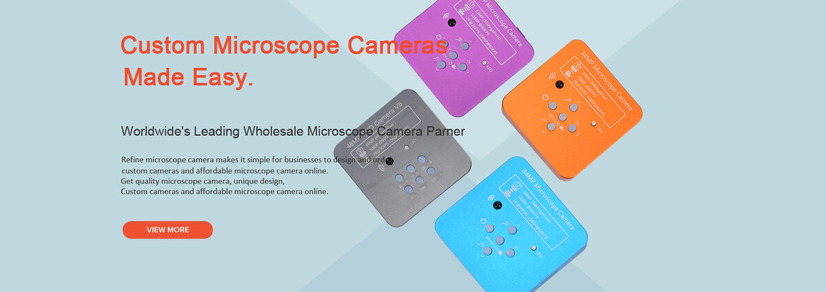 1 red + 1 Blue + 1 Green + 1 Orange Case of 4 Packs HAYEAR 16MP HD HDMI 1080P Digital Magnifier Industry CMOS Microscope Video Camera for Stereo Biological Microscope