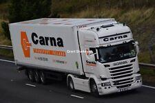 Truck Photos Irish Carna Transport Scania R450 & fridge 182-MN-124